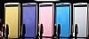 Eiroo Mirror Cover LG V10 Aynalı Kapaklı Uyku Modlu Siyah Kılıf - Resim 2
