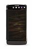 Eiroo Mirror Cover LG V10 Aynalı Kapaklı Uyku Modlu Siyah Kılıf - Resim 3