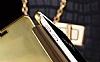 Eiroo Mirror Cover Samsung Galaxy A7 2016 Aynalı Kapaklı Dark Blue Kılıf - Resim 1