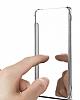 Eiroo Mirror Cover Samsung Galaxy A7 2017 Aynalı Kapaklı Siyah Kılıf - Resim 2