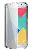 Eiroo Mirror Cover Samsung Galaxy A7 2017 Aynalı Kapaklı Siyah Kılıf - Resim 1