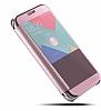 Eiroo Mirror Cover Samsung Galaxy A7 2017 Aynalı Kapaklı Siyah Kılıf - Resim 3