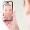 Eiroo Mirror Cover Samsung Galaxy J5 Aynalı Kapaklı Siyah Kılıf - Resim 5