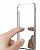 Eiroo Mirror Cover Samsung Galaxy J7 Prime Aynalı Kapaklı Siyah Kılıf - Resim 2