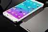 Eiroo Mirror Cover Samsung Galaxy Note 4 Aynalı Kapaklı Lacivert Kılıf - Resim 4