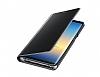 Eiroo Mirror Cover Samsung Galaxy Note 8 Uyku Modlu Aynalı Kapaklı Silver Kılıf - Resim 3