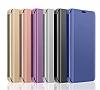 Eiroo Mirror Cover Samsung Galaxy S20 Aynalı Kapaklı Silver Kılıf - Resim 3