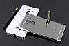 Eiroo Mirror Huawei Mate 10 Pro Metal Kenarlı Aynalı Siyah Rubber Kılıf - Resim 1