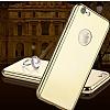 Eiroo Mirror Protect Fit iPhone 6 / 6S Aynalı 360 Derece Koruma Gold Kılıf - Resim 3