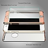 Eiroo Mirror Protect Fit iPhone 6 / 6S Aynalı 360 Derece Koruma Rose Gold Kılıf - Resim 3