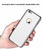 Eiroo Mirror Protect Fit iPhone 6 / 6S Aynalı 360 Derece Koruma Silver Kılıf - Resim 1