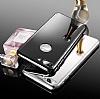 Eiroo Mirror Protect Fit iPhone 7 Plus Aynalı 360 Derece Koruma Silver Kılıf - Resim 8