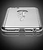 Eiroo Mirror Protect Fit iPhone SE / 5 / 5S Aynalı 360 Derece Koruma Jet Black Kılıf - Resim 4