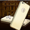 Eiroo Mirror Protect Fit iPhone SE / 5 / 5S Aynalı 360 Derece Koruma Gold Kılıf - Resim 3