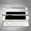 Eiroo Mirror Protect Fit iPhone SE / 5 / 5S Aynalı 360 Derece Koruma Silver Kılıf - Resim 3