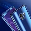 Eiroo Mirror Protect Fit Samsung Galaxy S9 Aynalı 360 Derece Koruma Gold Kılıf - Resim 5