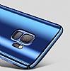 Eiroo Mirror Protect Fit Samsung Galaxy S9 Plus Aynalı 360 Derece Koruma Mor Kılıf - Resim 3