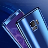 Eiroo Mirror Protect Fit Samsung Galaxy S9 Plus Aynalı 360 Derece Koruma Mor Kılıf - Resim 5