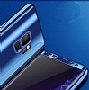 Eiroo Mirror Protect Fit Samsung Galaxy S9 Plus Aynalı 360 Derece Koruma Mor Kılıf - Resim 4