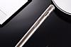 Eiroo Mirror Samsung Galaxy J7 Prime Silikon Kenarlı Aynalı Gold Rubber Kılıf - Resim 3