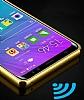 Eiroo Mirror Samsung Galaxy S8 Metal Kenarlı Aynalı Rubber Kılıf - Resim 4