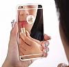 Eiroo Mirror Samsung Galaxy Note 8 Silikon Kenarlı Aynalı Rubber Kılıf - Resim 2