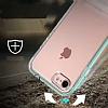 Eiroo Mixx Hybrid iPhone 6 Plus / 6S Plus Standlı Rose Gold Silikon Kılıf - Resim 2
