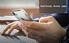 Eiroo Mixx Hybrid iPhone 6 Plus / 6S Plus Standlı Silver Silikon Kılıf - Resim 3