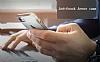Eiroo Mixx Hybrid iPhone SE / 5 / 5S Standlı Siyah Silikon Kılıf - Resim 5