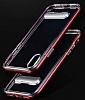 Eiroo Mixx Hybrid iPhone X Siyah Kenarlı Standlı Silikon Kılıf - Resim 3
