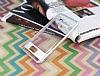 Eiroo Mixx Hybrid Samsung Galaxy J7 Prime Silver Kenarlı Standlı Silikon Kılıf - Resim 3