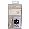 Eiroo Musical Mikrofonlu Kulakiçi Beyaz Kulaklık - Resim 1