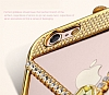 Eiroo Necklace iPhone 6 Plus / 6S Plus Metal Gold K�l�f - Resim: 8