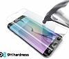 Eiroo Nokia 6 Curve Tempered Glass Full Beyaz Cam Ekran Koruyucu - Resim 3
