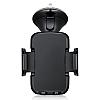 Eiroo Nokia 6 Siyah Araç Tutucu - Resim 7