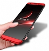 Eiroo Protect Fit Huawei Mate 10 Lite 360 Derece Koruma Siyah Rubber Kılıf - Resim 5