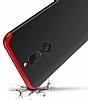 Eiroo Protect Fit Huawei Mate 10 Lite 360 Derece Koruma Siyah Rubber Kılıf - Resim 1
