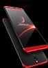 Eiroo Protect Fit Huawei Mate 10 Lite 360 Derece Koruma Siyah Rubber Kılıf - Resim 3