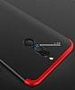 Eiroo Protect Fit Huawei Mate 10 Lite 360 Derece Koruma Siyah Rubber Kılıf - Resim 2