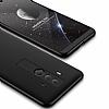 Eiroo Protect Fit Huawei Mate 10 Pro 360 Derece Koruma Siyah Rubber Kılıf - Resim 2