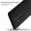 Eiroo Protect Fit Huawei Mate 10 Pro 360 Derece Koruma Siyah Rubber Kılıf - Resim 5