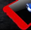 Eiroo Protect Fit Huawei P Smart 360 Derece Koruma Kırmızı Rubber Kılıf - Resim 2