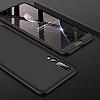 Eiroo Protect Fit Huawei P20 Pro 360 Derece Koruma Lacivert Rubber Kılıf - Resim 1