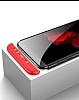 Eiroo Protect Fit Samsung Galaxy A6 Plus 2018 360 Derece Koruma Siyah Rubber Kılıf - Resim 2