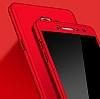 Eiroo Protect Fit Samsung Galaxy C7 Pro 360 Derece Koruma Gold Rubber Kılıf - Resim 1