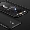 Eiroo Protect Fit Samsung Galaxy J5 Pro 2017 360 Derece Koruma Siyah-Kırmızı Rubber Kılıf - Resim 2