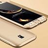 Eiroo Protect Fit Samsung Galaxy J5 Pro 2017 360 Derece Koruma Gold Rubber Kılıf - Resim 2