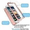 Eiroo Protect Fit Samsung Galaxy J7 / Galaxy J7 Core 360 Derece Koruma Kırmızı Rubber Kılıf - Resim 4