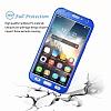 Eiroo Protect Fit Samsung Galaxy J7 / Galaxy J7 Core 360 Derece Koruma Kırmızı Rubber Kılıf - Resim 3