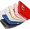 Eiroo Protect Fit Samsung Galaxy Note 5 360 Derece Koruma Kırmızı Rubber Kılıf - Resim 3